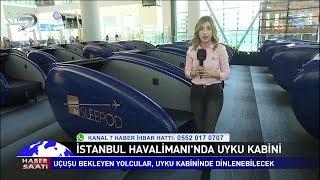İstanbul Havalimanı'nda Uyku Kabini