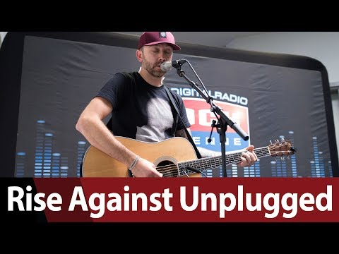 Rise Against Unplugged  Tim McIlrath @ ROCK ANTENNE