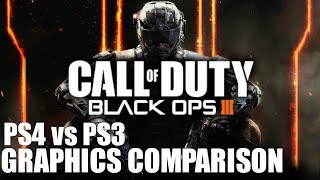 Black Ops 3 - PS4 vs PS3 Graphics Comparison [Full HD 60fps] (Read Description)