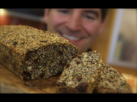 Nutty Seed Loaf: Flourless Nordic Nut Loaf style bread