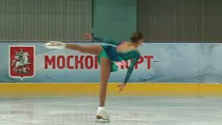 5 этап Кубка России   Ростелеком  МС,Женщины  ПП 15 Алёна КОСТОРНАЯ МОС