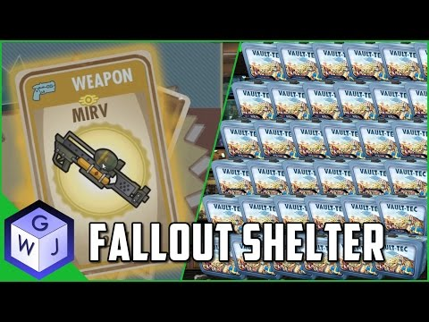 Fallout Shelter Lunchboxes Opening Legendary Overload Special