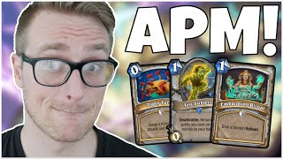 Hearthstone | Get Me OUTTA HERE! | Wild Miracle APM Priest | Saviors of Uldum