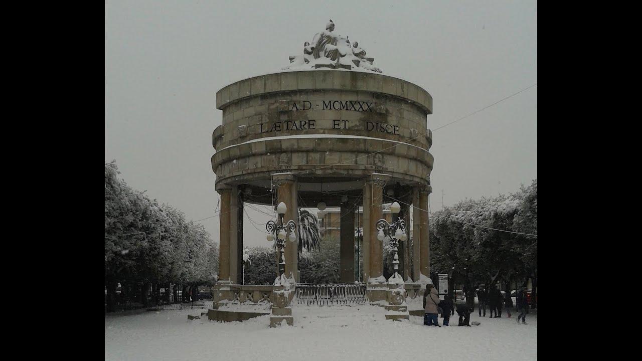 Neve ad acquaviva delle fonti 31 12 2014 youtube for Monolocale arredato acquaviva delle fonti