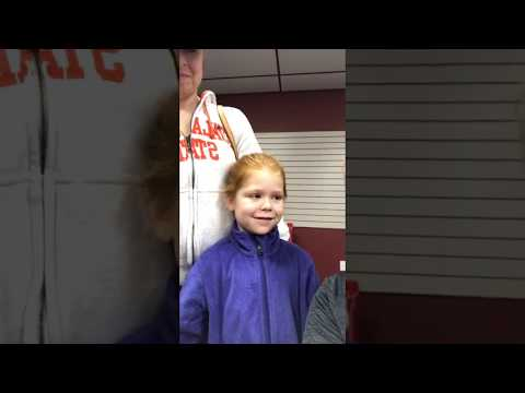 BAYFA Youth Cheer | 2nd Grader cheering for the first time