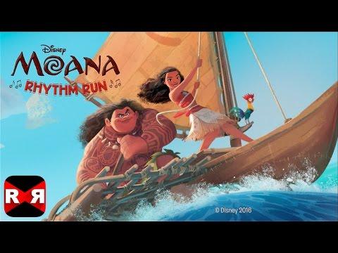 Moana: Rhythm Run (By Disney) - iOS / Android - Gameplay Video