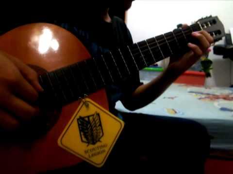 Shingeki No Kyojin OP 2 「Jiyuu No Tsubasa -Linked Horizon-」 [Guitar Cover]