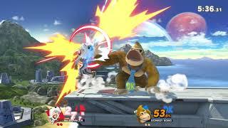 Mii Brawler(Me) vs Donkey Kong Smash Ultimate