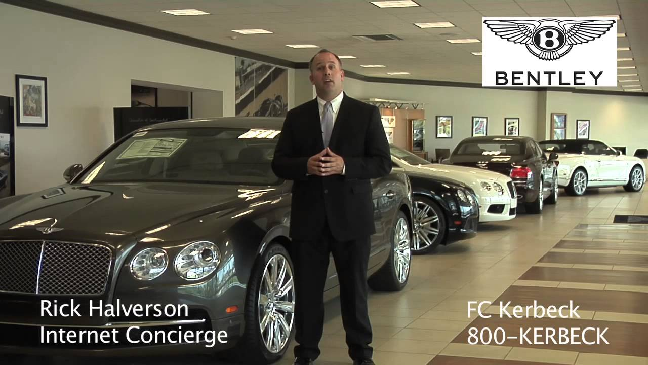 Fc Kerbeck Bentley Dealer Philadelphia Youtube