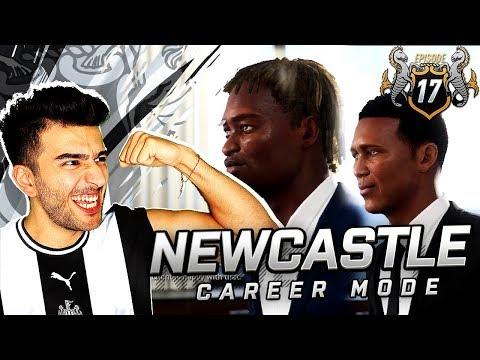 NEW SEASON & AMAZING TRANSFERS FOR NEWCASLTE - FIFA 19 NEWCASTLE UNITED CAREER MODE 17