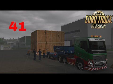 Let's Play Euro Truck Simulator 2 - Italia DLC Part 41 Special Transport Massive Tech Part