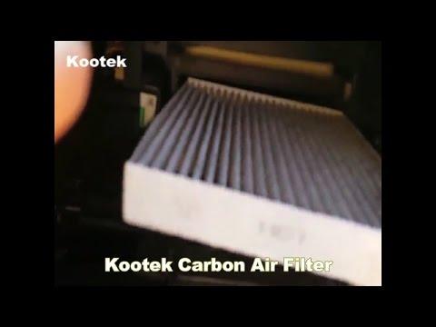 Kootek Carbon Air Filter for Toyota / Lexus / Scion / Subaru