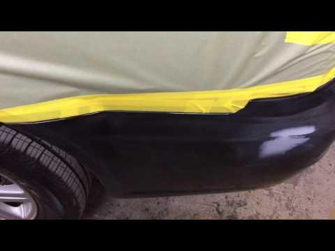 DIY rear bumper paint repair (Chrysler town & country)
