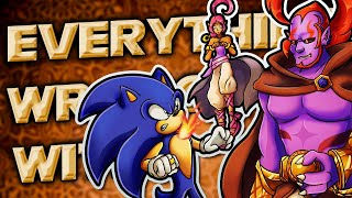 Everything Wrong With Sonic and the Secret Rings in Almost 12 Minutes