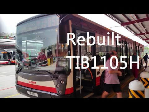 [SMRT]Rebuilt-TIB1105H On Service 856(Mercedes Benz O405G Hispano Habit)