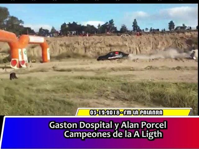 Rally   Gaston Dospital y Alan Porcel Campeones de la A Ligth