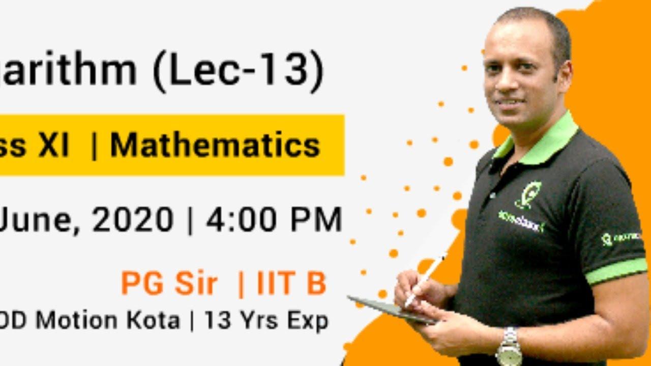 Logarithm (Lec-13)