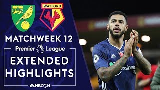Norwich City v. Watford | PREMIER LEAGUE HIGHLIGHTS | 11/08/19 | NBC Sports
