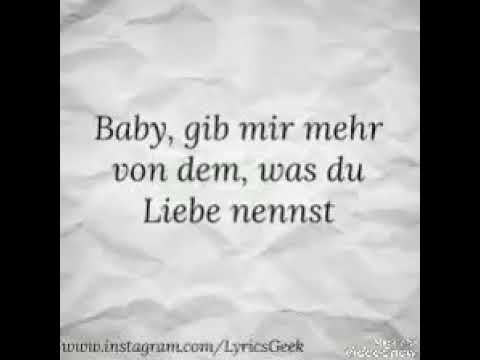 Bausa Was Du Liebe Nennst Official Lyrics Video Youtube
