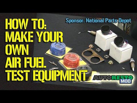 Make Your Own Air Fuel Test Equipment Episode 216 Autorestomod