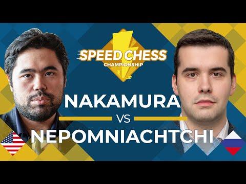Hikaru Nakamura vs. Ian Nepomniachtchi: 2019 Speed Chess Championship Semifinals
