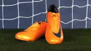 Nike Mercurial Vapor SL Firm Ground Shoes - Orange and Navy