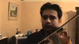 YouTube meri bheegi bheegi si violin by Ayoub