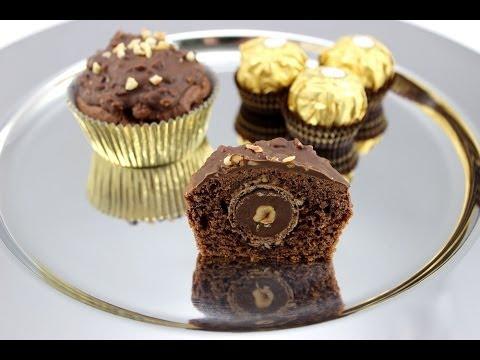 Nuss-Nougat Muffins mit Rocher