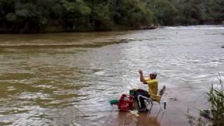 pescaria no sambura varandao