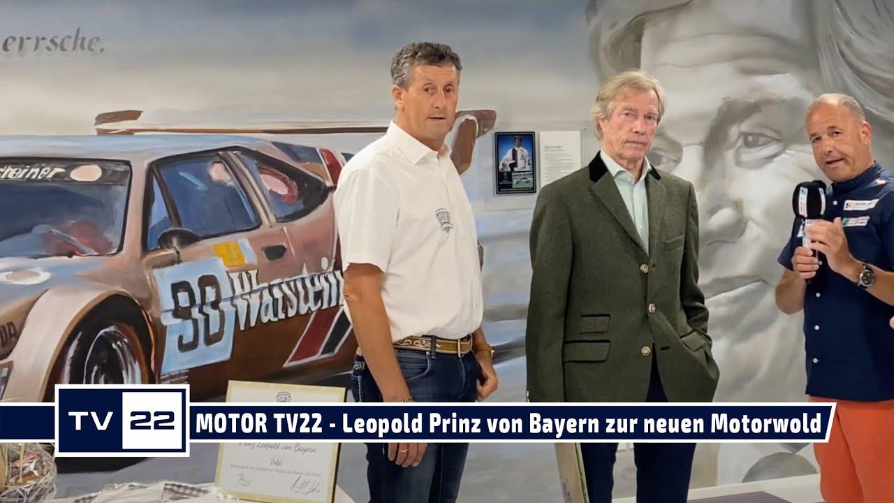 MOTOR TV22: Leopold Prinz von Bayern erklärt seinen neuen Konferenzraum in der Motoworld München