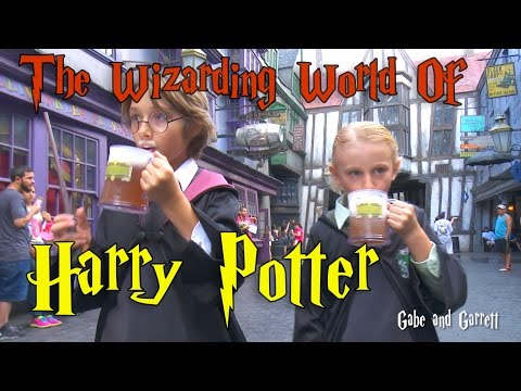 The Wizarding World of Harry Potter - Universal Studios Orlando, Florida!!