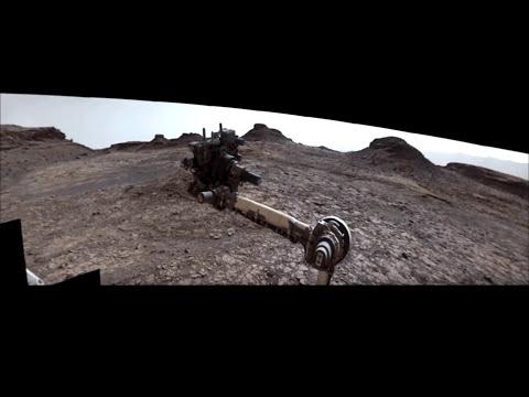 Dust Devils On Mars + 360 Panorama