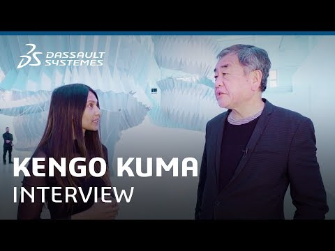 Kengo Kuma Interview @ Design in the Age of Experience 2018 - Dassault Systèmes