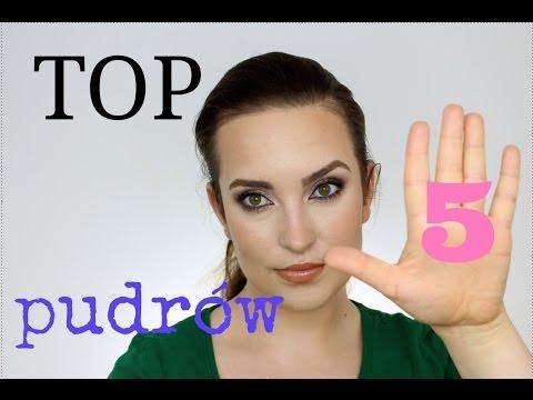 Moje TOP 5 pudrów do makijażu twarzy