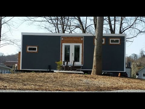 Thumbnail: Contemporary Meets Industrial In This Lovely Tiny House Build