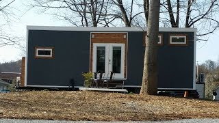 Contemporary Meets Industrial In This Lovely Tiny House Build