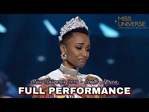 FULL PERFORMANCE Miss Universe 2019 - South Africa