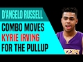 D'Angelo Russell Combo Moves Kyrie Irving for the Pullup | Move-Of-The-Night | Dre Baldwin