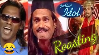 Funny Auditions of indian idols😂😂 || old memes || Roaster DM