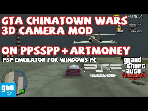 GTA CTW PSP Cwcheat 02 3D Camera Mod