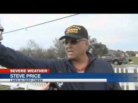 NWS: Two Tornado Touchdowns In Charlotte County