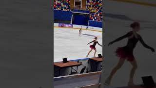 Александра Трусова Прокат произвольной программы Команда Время первых Angels of Plushenko
