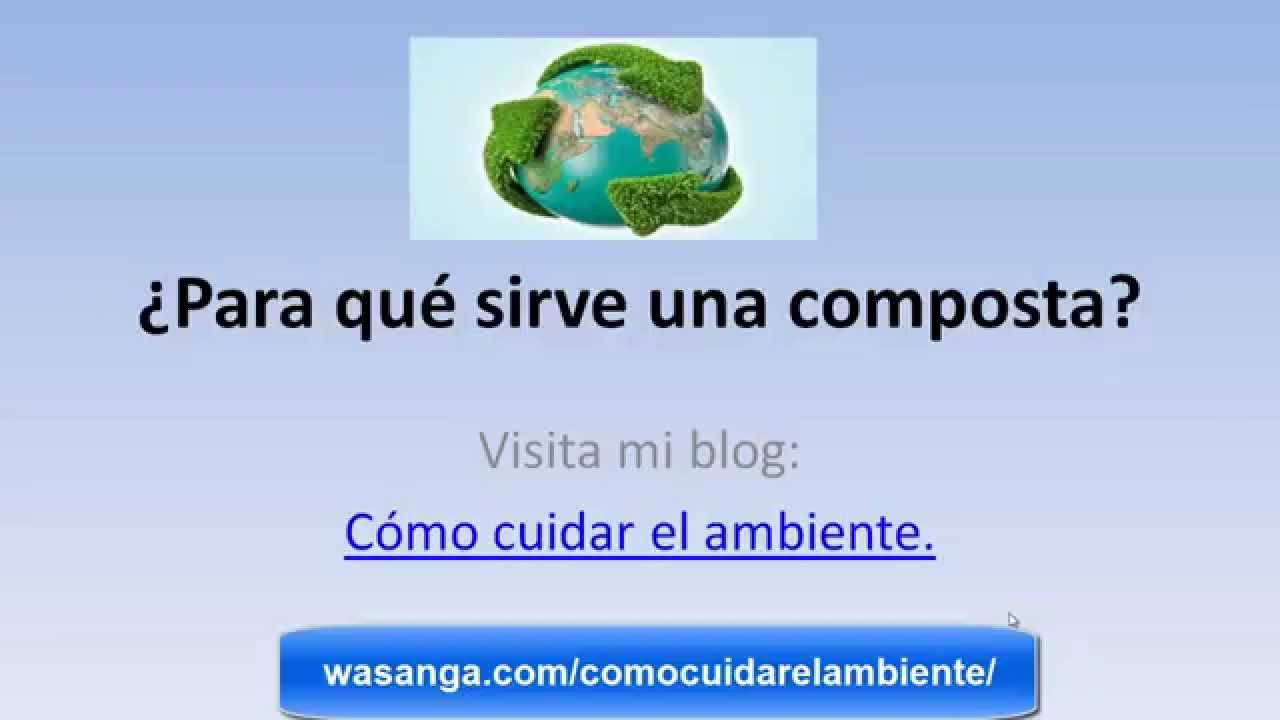 Composta para que sirve - YouTube