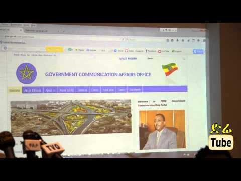 DireTube News Government Communication Office Launches Portal Web Page