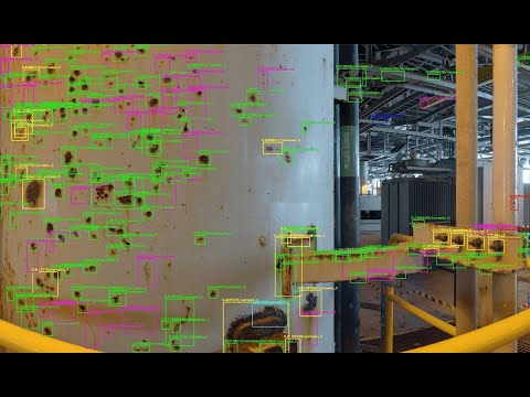AI Corrosion Detection saves 98% of time on Offshore Fabric Maintenance - Case Study