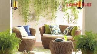 Gambar cover Outdoor Patio Design - Backyard and Patio Decor Ideas, Wicker Seating