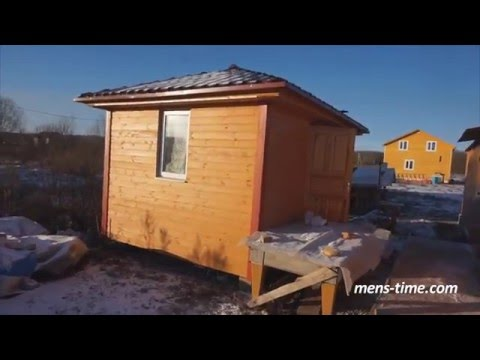 видео: ч.10 Монтаж водосточной системы на бытовку