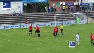 A-Junioren 1:3 Marvin Pieringer - CfR Pforzheim vs SSV Reutlingen 1905 Fußball