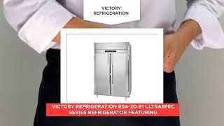 Victory Refrigeration RSA 2D S1 UltraSpec Series Refrigerator Featuring