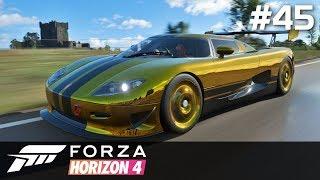 Forza Horizon 4 PC [#45] Złoty Koenigsegg i 1 MLN $ /z Skie